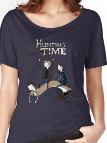 Hunting Time. Women's Relaxed Fit T-Shirt