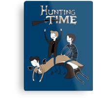 Hunting Time. Metal Print
