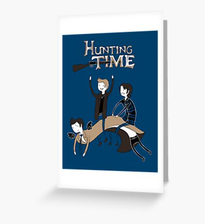 Hunting Time. Greeting Card