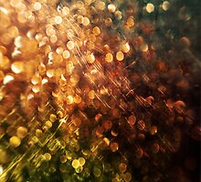 Bokeh Glitter Case by Jenifer Jenkins