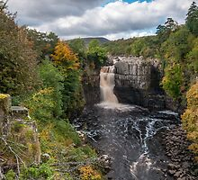 Autumn at High Force by mountainsandsky