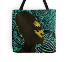 Black Wax Tote Bag
