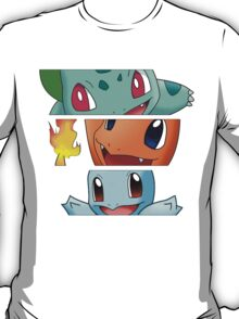 Pokemon - starters T-Shirt