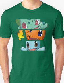 Pokemon - starters T-Shirt