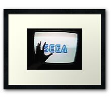 Enter The SEGA Framed Print