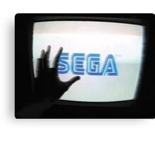 Enter The SEGA Canvas Print