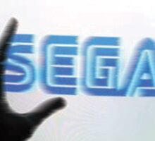 Enter The SEGA Sticker
