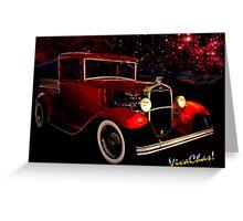 32 Ford Pickup Starlight Greeting Card