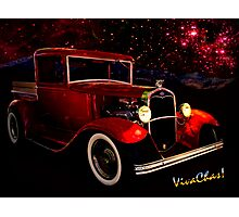 32 Ford Pickup Starlight Photographic Print