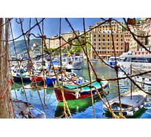 Camogli Oil 1 Photographic Print