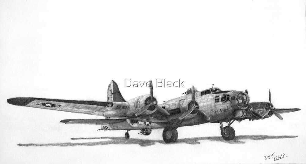 "Boeing B-17G ""Miss Angela"" by Dave Black"