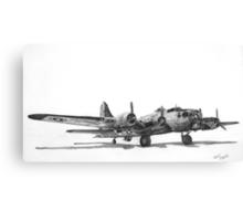 "Boeing B-17G ""Miss Angela"" Canvas Print"