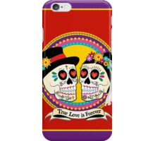 Los Novios (English) iPhone Case/Skin