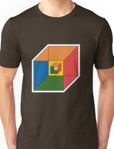 BEWARE HYPNO-CUBE color version Unisex T-Shirt
