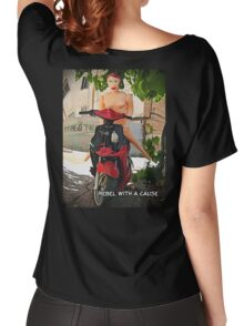 Rebel With a Cause Women's Relaxed Fit T-Shirt