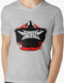 BABYMETAL - SKELETON HOODIE Mens V-Neck T-Shirt