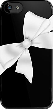 Elegant White Bow by GirlyGirl
