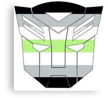 Autobot Pride [Agender] Canvas Print