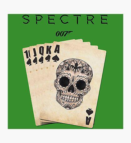 spectre 007 skull logo 2 Photographic Print