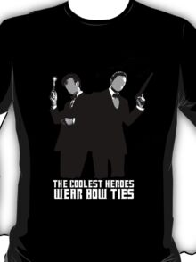 The Coolest Heroes Wear Bow Ties T-Shirt