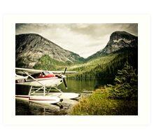 Alaska Fjords Art Print