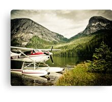 Alaska Fjords Canvas Print
