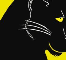 Panther Printmaking Art Sticker