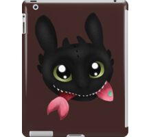 How To Train Your Dragon Toothless Eating Salmon iPad Case/Skin