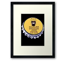Hur Hur the Tusken Raiders Framed Print