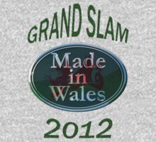Wales Grand Slam 2012 (made in Wales) One Piece - Short Sleeve