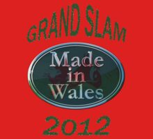 Wales Grand Slam 2012 (made in Wales) Kids Clothes