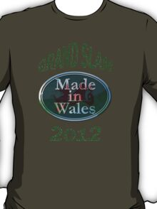 Wales Grand Slam 2012 (made in Wales) T-Shirt