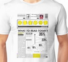 newspaper Unisex T-Shirt