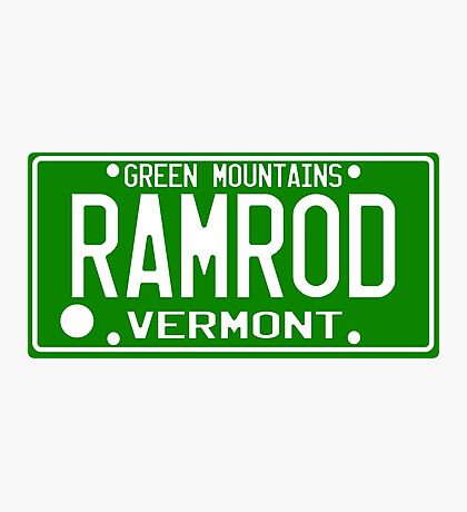 Car Ramrod Photographic Print