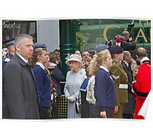 The Queen's Diamond Jubilee visit to Bromley Poster