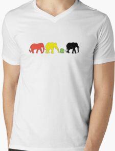 Rasta Eles Mens V-Neck T-Shirt