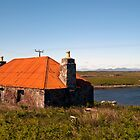 North Uist: The red-rooved Cottage by Kasia-D