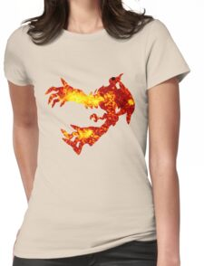 Yveltal used oblivion wing Womens Fitted T-Shirt