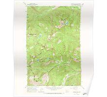 USGS Topo Map Washington State WA Labyrinth Mtn 241836 1965 24000 Poster