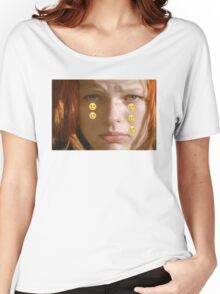 Leeloo Sad Women's Relaxed Fit T-Shirt