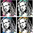Anna Paquin-Sookie Stackhouse (Pop-art) by OTIS PORRITT