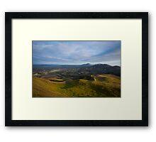 The Malvern Hills Framed Print