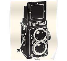 Camera: Rolleiflex Poster
