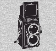 Camera: Rolleiflex One Piece - Short Sleeve
