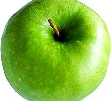 Green Apple by ukedward