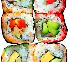 Sushi by ukedward
