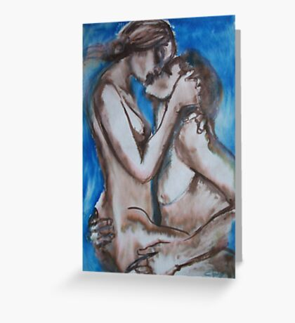 Lovers - Je T'Aime Greeting Card