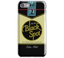 Black Spot Turkish Cigarettes iPhone Case/Skin