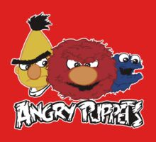 Angry Puppets Kids Tee