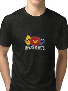 Angry Puppets Tri-blend T-Shirt